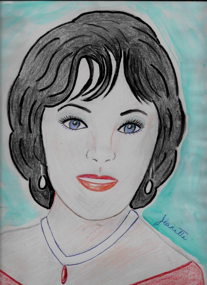 Elizabeth Taylor por Jeanette